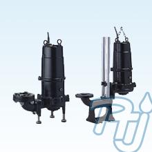 ปั๊มน้ำรุ่นที่มีกลไกการบดในทางด้านดูดของปั๊ม TSURUMI รุ่น MG (Submersible Grinder Pump)